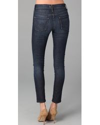 Citizens of Humanity | Blue Thompson High Rise Skinny | Lyst