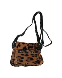 Jérôme Dreyfuss | Multicolor Twee Mini Leopard-print Calf Hair Shoulder Bag | Lyst