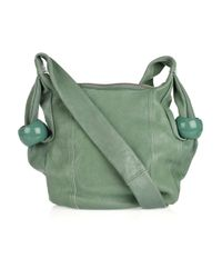 See By Chloé - Green Ring Around Leather Shoulder Bag - Lyst