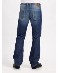 DIESEL | Blue Viker Straight-leg Jeans for Men | Lyst