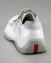 Prada | Americas Cup Sneaker, White for Men | Lyst