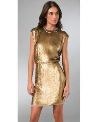 Rachel Roy - Metallic Sequin Dress - Lyst