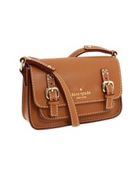 kate spade new york | Brown Essex Natural Small Scout | Lyst