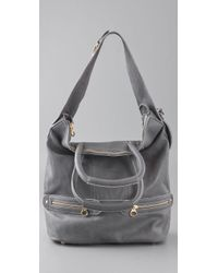 See By Chloé - Gray Tomo Convertible Small Shoulder Bag - Lyst