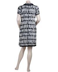 Proenza Schouler - Black Cotton Tie and Dye Dress - Lyst