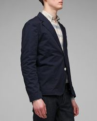General Assembly | Blue Lightweight Twill Blazer for Men | Lyst