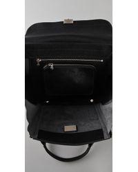 3.1 Phillip Lim   Black K.c. Zipper Leather Top Handle Bag   Lyst
