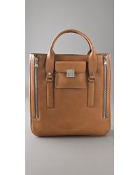 3.1 Phillip Lim | Brown Seymour Tote | Lyst