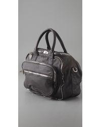 Alexander Wang | Gray Eugene Leather Shoulder Bag | Lyst