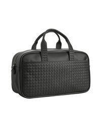 Bottega Veneta | Black Woven Leather Carry-on Bag for Men | Lyst