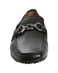 Kenneth Cole - Black Leather Turbo Switch Moc Loafers for Men - Lyst