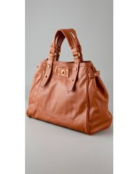 Marc By Marc Jacobs | Brown Totally Turnlock Lucy | Lyst