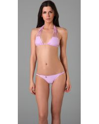 Salt Swimwear - Purple Lola Bikini Top - Lyst
