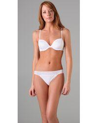 Calvin Klein - White Ck One Convertible T-shirt Bra - Lyst