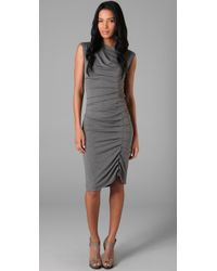 Jarbo | Gray Pleated Dress | Lyst