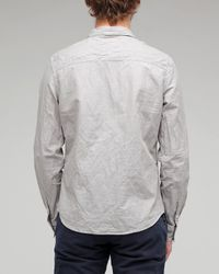 Life After Denim | Gray Task Shirt for Men | Lyst