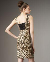 Alice + Olivia | Multicolor Nicola Leopard-print Dress | Lyst