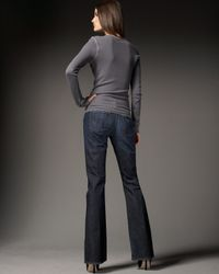 Citizens of Humanity | Blue Ingrid Flared Jeans | Lyst