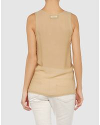 Jo No Fui - Metallic Top - Lyst