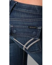 William Rast | Blue Belle Cuffed Capri Jeans | Lyst