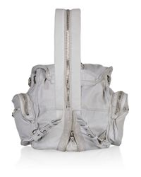 Alexander Wang - Gray Marti Leather Backpack - Lyst