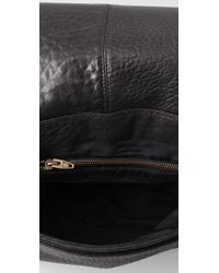 Alexander Wang - Black Lia Sling Leather Messenger Bag - Lyst