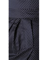 Alice By Temperley | Blue Romaine Polka Dot Dress | Lyst