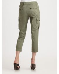 Marc By Marc Jacobs | Green 10th Year Anniversary Army Twill Cargo Pants | Lyst