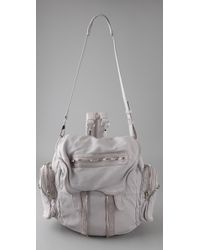 Alexander Wang | Gray Marti Leather Backpack | Lyst