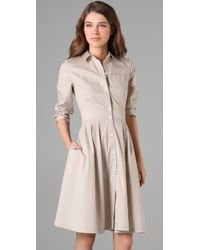 Club Monaco | Natural Aileen Dress | Lyst