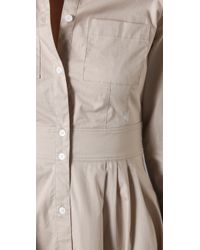Club Monaco - Natural Aileen Dress - Lyst