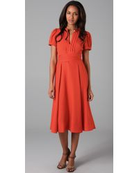 Marc By Marc Jacobs | Orange Mimi Cdc Dress | Lyst