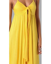 Marc By Marc Jacobs - Yellow Cee Cee Jersey Dress - Lyst