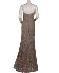 Eastland - Metallic Gown with Bead Detail - Lyst