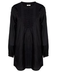 Day Birger et Mikkelsen - Black Clavier Top - Lyst
