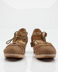 F-Troupe | Brown Clog Sandal | Lyst