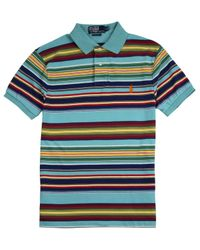 Polo Ralph Lauren - Multicolor Multi Stripe Polo Shirt for Men - Lyst