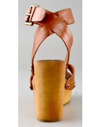 Ash | Brown Vivian Clog Sandals | Lyst