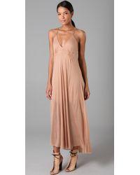 A.L.C. | Pink Long Summer Dress | Lyst