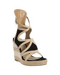 Balenciaga | Black Espadrille Sandals | Lyst