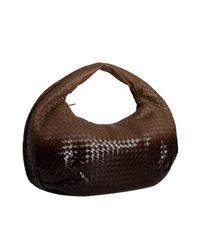 Bottega Veneta | Brown Basketwoven Degrade Belly Veneta Hobo | Lyst