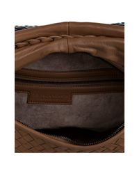 Bottega Veneta - Brown Basketwoven Degrade Belly Veneta Hobo - Lyst