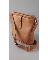 JW Hulme | Brown Mini Legacy Bag | Lyst