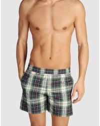 Moncler - Blue Swimming Trunks for Men - Lyst