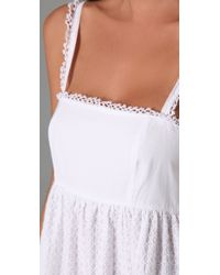OndadeMar | White Bohemian Sands Cover Up Dress | Lyst