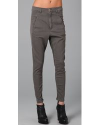 Superfine - Gray Adventure Harem Jeans - Lyst