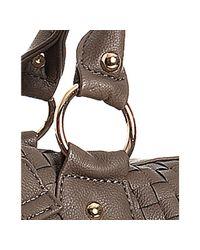 Deux Lux | Brown Coco Basketwoven Decker Duffel Bag | Lyst