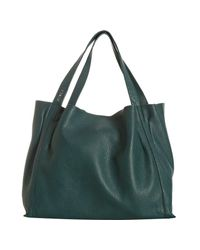 Furla | Blue Teal Leather Fluorite Shopper Tote | Lyst