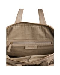 Givenchy | Natural Beige Grommet Nylon Nightingale Medium Top Handle Bag | Lyst