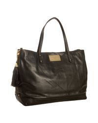 Rebecca Minkoff | Black Leather Cherish Tote Bag | Lyst